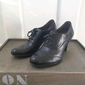 Børn leather oxford mary jane shoes